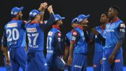 DC Squad for IPL 2020 in UAE: Check Updated Players' List of Delhi Capitals Team Led by Shreyas Iyer for Indian Premier League Season 13