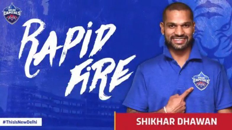IPL 2019: Delhi Capitals' Shikhar Dhawan Picks Former Pakistan Pacer Shoaib Akhtar As His All-Time Favourite Bowler, Watch Video