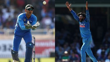MS Dhoni, Ravindra Jadeja Combine to Pull Off Sensational Run Out During Ind vs Aus 3rd ODI, Watch Video