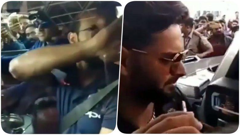 MS Dhoni Takes Kedar Jadhav and Rishabh Pant for a Ride Ahead of India vs Australia, 3rd ODI 2019 (Watch Video)