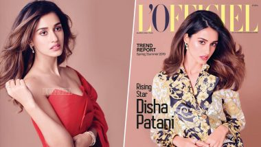 Disha Patani's Elite and Elegant Presence On L'Officiel Cover Will Stun You In A Jiffy!