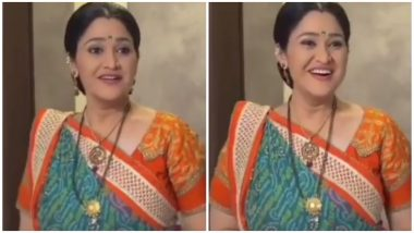 Disha Vakani Returning To Taarak Mehta Ka Ooltah Chashmah? Watch Video