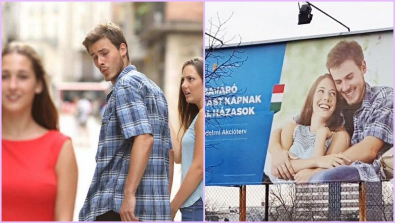 Distracted Boyfriend Meme Resurfaces in Hungarian Government Ad Promoting Family Values; Viral Pic Amuses Internet