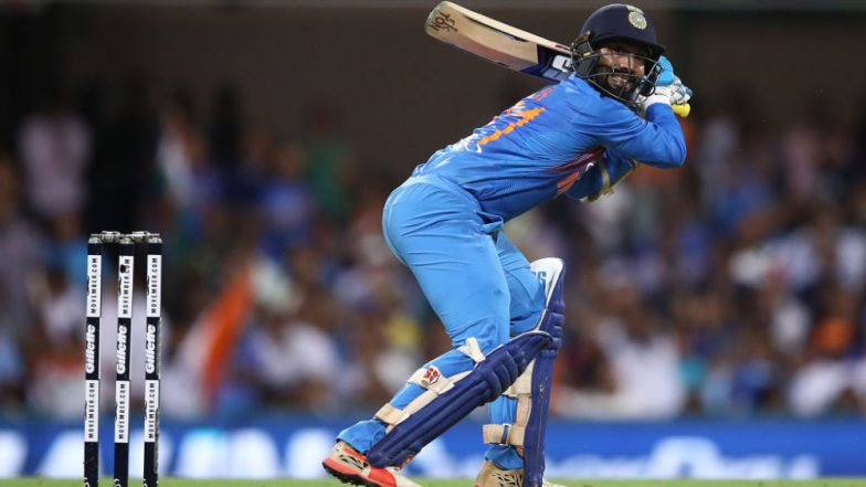 Dinesh Karthik Included in Team India for ICC Cricket World Cup 2019, Check Full 15-Man Squad