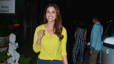 Parineeti Chopra Binging on Saina Nehwal's Badminton Videos