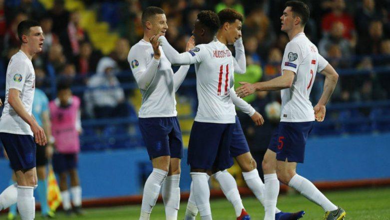 UEFA Euro 2020 Qualifying : England Thrash Montenegro 5-1 in Euro Qualifier