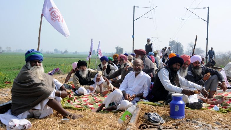 Punjab Farmers' Protest Enters Third Day; Rail Services Hit, Over 25 Trains Cancelled & 7 Diverted