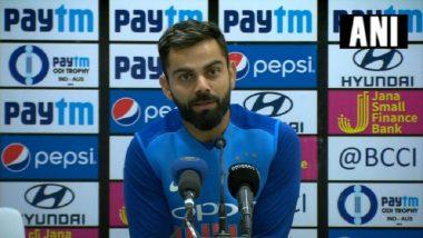 India vs Australia 5th ODI 2019: Virat Kohli Blames Poor Bowling for Loss in ODI Series