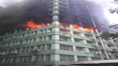 Delhi Fire: One CISF Personnel Dead During Firefighting Operations After Blaze Engulfs 5th Floor of Pandit Deendayal Antyodaya Bhawan at CGO Complex