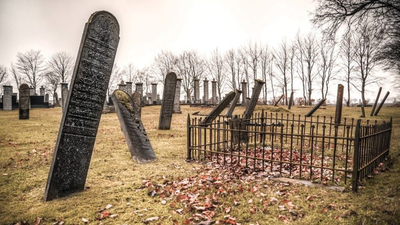 Woman Gets Swallowed Into Her Parents' Grave at Long Island Cemetery! Files $5 Million Suit For Injuries