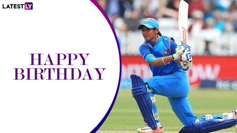 Harmanpreet Kaur Birthday Special: 4 Best Knocks of Indian Women's T20I Captain