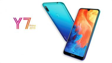 Huawei Y9 (2019) Smartphone With Waterdrop Notch & Dual Camera Launched; Price, Specifications & Features