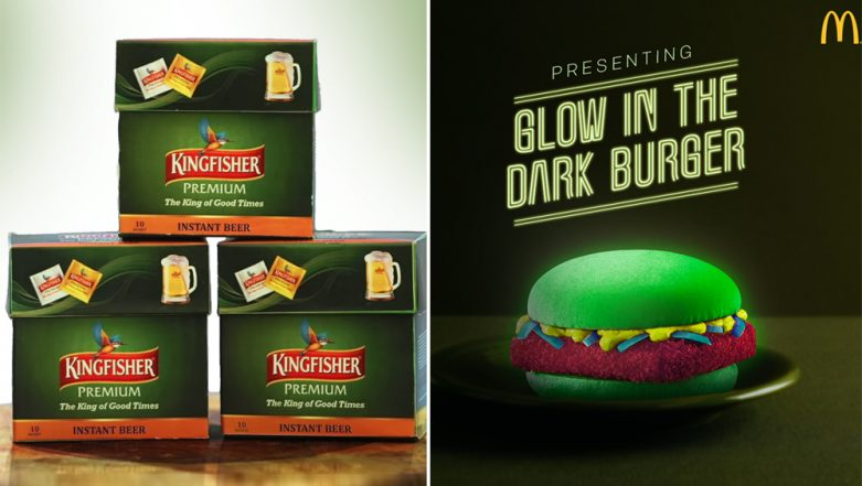 From Mc Donald's Glow-in-Dark Burger to Kingfisher's Instant Beer Powder, Don't Be Fooled by These April Fools' Day Pranks This Year