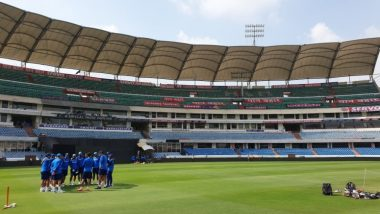 India vs Australia, 2019: Team India Sweats it Out in the Nets Ahead of First ODI Against Australia (See Pics)
