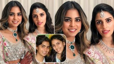 Shloka Mehta and Isha Ambani's Transformation From Being Childhood BFFs to Sisters-in-Law Is Beautiful! See Picture