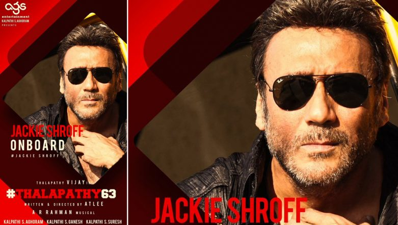 Thalapathy 63: Jackie Shroff Makes His Killer Presence Felt In Vijay's Sports Drama!