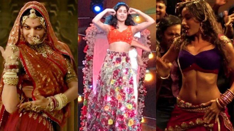 Filmfare Awards 2019: Janhvi Kapoor Rehearses for Performance on Deepika Padukone's Ghoomae and Nora Fatehi's Kamariya – Watch Videos