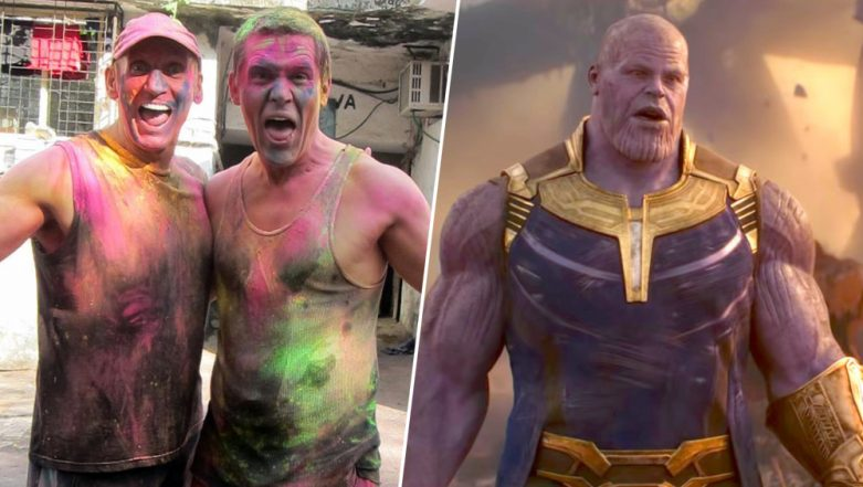 Avengers:Endgame Star Josh Brolin aka Thanos Sends Holi Wishes For Indian Fans With a Throwback Picture!