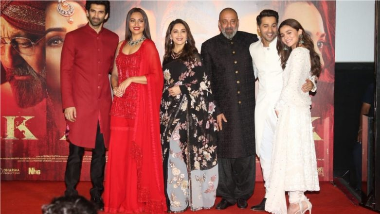 Kalank Teaser: Did You Notice This Blink-And-Miss Appearance of Sanjay Dutt and Madhuri Dixit Together? (View Pic Inside)