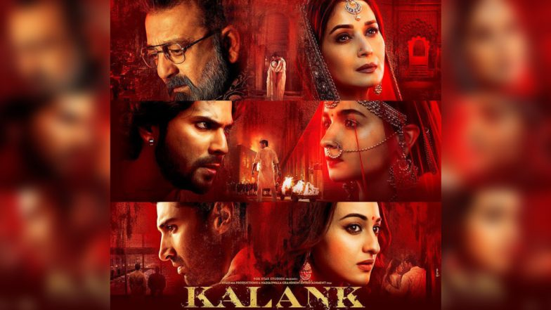Kalank: Right Before The Official Teaser of Alia Bhatt-Varun Dhawan Starrer is Launched, The Makers Reveal Yet Another Poster Of The Film!