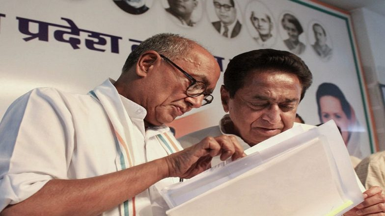 Kamal Nath Wants Digvijaya Singh to Contest in Lok Sabha Elections 2019, But Adds a Rider: 'Choose The Toughest Seat'
