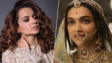 Kangana Ranaut Claims She Rejected Deepika Padukone's Padmaavat!