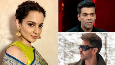 Kangana Ranaut Calls Actresses in Karan Johar's in 'Best Actresses' List 'Idiots', Slams Hrithik Roshan For Denying That He Knows Her
