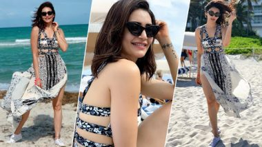 Karishma Tanna Chilling at Miami Beach Will Give You Major Vacation Goals – View Pics