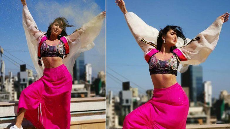 Katrina Kaif's Holi 2019 Mantra: Bright Colours and Hot Pink Long Skirt, View Pics!