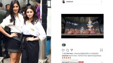 Katrina Kaif Praises Alia Bhatt's 'Ghar More Pardesiya' Performance From Kalank and Fans Might Want To Stop Questioning Their Friendship Now!