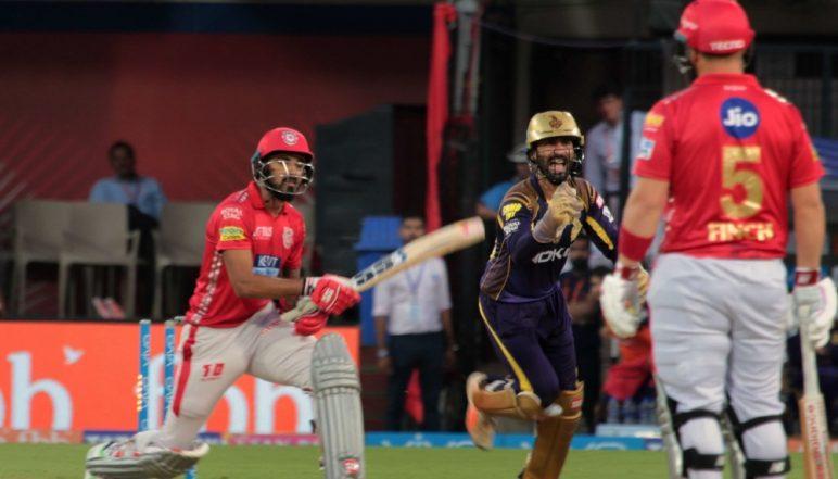 KXIP vs KKR Toss and Playing XI Live Updates: Unchanged Kolkata Knight Riders Put Kings XI Punjab to Bat