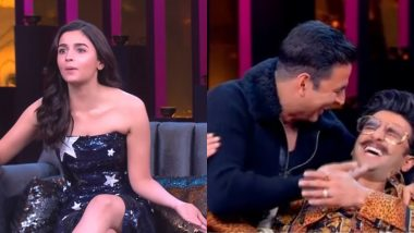 Which Koffee with Karan Season 6 Episode Did You Enjoy the Most? Vote Now for Alia Bhatt, Ranveer Singh or Prabhas!