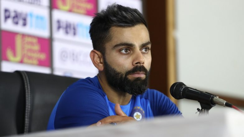 ICC Cricket World Cup 2019: Handling Pressure Is Most Important During the Tournament in England, Says Virat Kohli