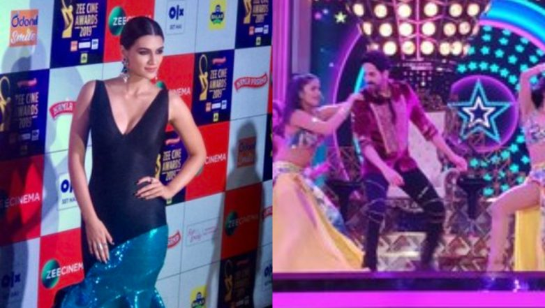 Zee Cine Awards 2019: Kriti Sanon and Ayushmann Khurrana Set the Stage on Fire with Their Performances – Watch Video
