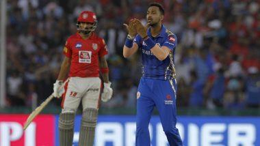 Krunal Pandya Tries to Pull off R Ashwin, Attempts Mankading Mayank Agarwal During KXIP vs MI, IPL 2019 Match (Watch Video)