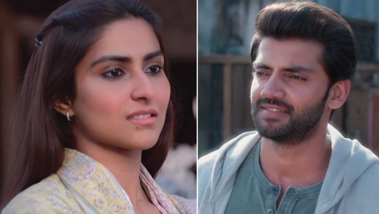 Notebook Song Laila: Pranutan Bahl Proclaims Her Love for Zaheer Iqbal in This Soothing Number - Watch Video