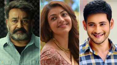 Happy Holi 2019: South Indian Film Stars Mohanlal, Kajal Aggarwal, Mahesh Babu Extend Their Gala Wishes