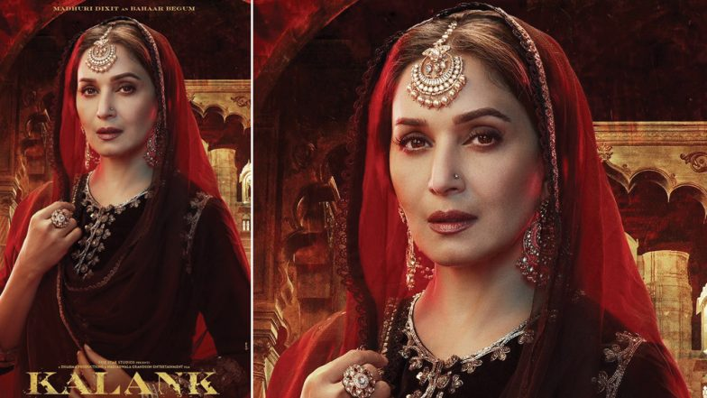 Kalank: Madhuri Dixit Nene As the Enchanting and Mysterious Bahaar Begum Makes Us Say WOW in This New Poster