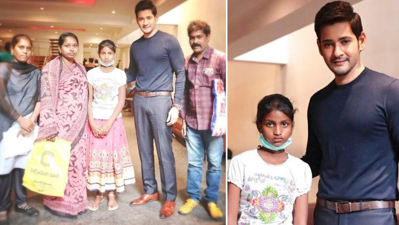 Mahesh Babu Spends Time With His Little Fan Suffering From Cancer and Wins His Fans' Hearts Again-See Pics
