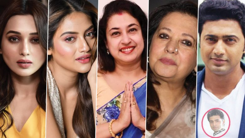 Lok Sabha Elections 2019: From Mimi Chakroborty to Nusrat Jahan, Full List of Glamorous Movie Stars Given Tickets By TMC in West Bengal