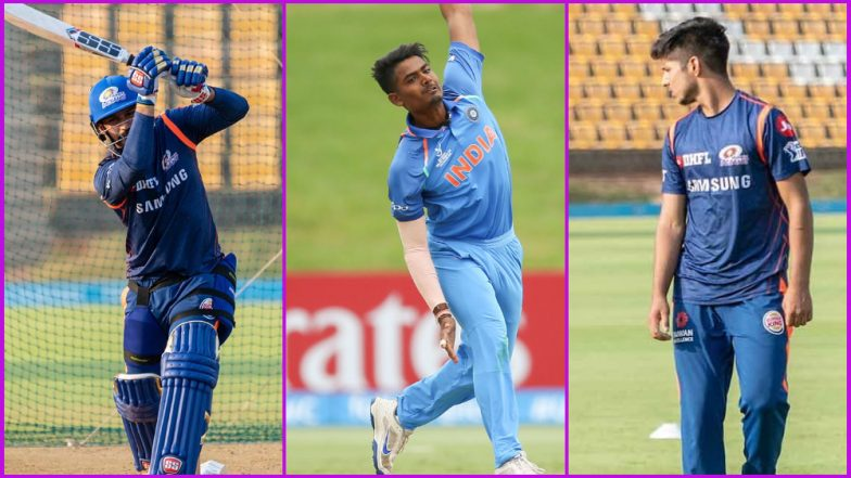 Team MI New Players: Here's a Look at Upcoming Talent in Mumbai Indians Squad for IPL 2019