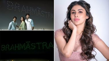 Mouni Roy Shares 'Behind The Scenes' Of Brahmastra Logo Launch; Terms It ' Glory Being Written In The Sky'! Watch Video