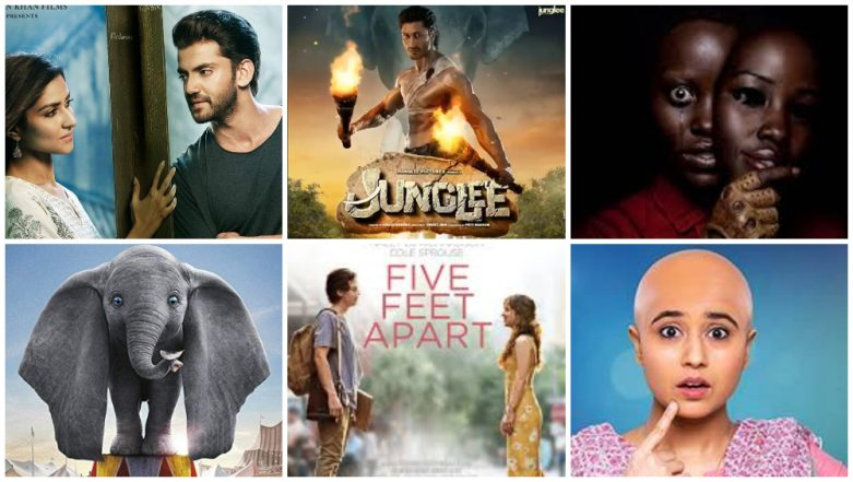Movies This Week: Notebook, Junglee, Us, Dumbo, Hotel Mumbai, Five Feet Apart, Gone Kesh