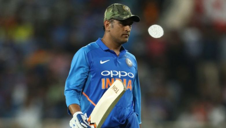 MS Dhoni Delivers a Speech in Chennai Ahead of Joining in His Regiment in Kashmir (Watch Video)