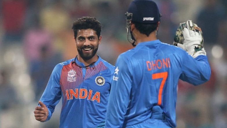 MS Dhoni & Ravindra Jadeja on the Verge of Breaking This Unique Record During IND vs AUS 3rd ODI 2019