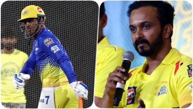 MS Dhoni Hilariously Trolls Kedar Jadhav Ahead of Their Match Against Delhi Capitals