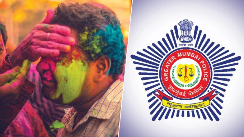 Holi 2019: Mumbai Police Urges Mumbaikars To Celebrate The Festival Of Colours Without The Noise; See Tweet