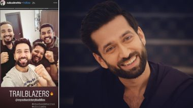 Nakuul Mehta's Picture With Filmmaker Shashank Khaitan Makes Us Wonder if a New Project on Cards - View Pic