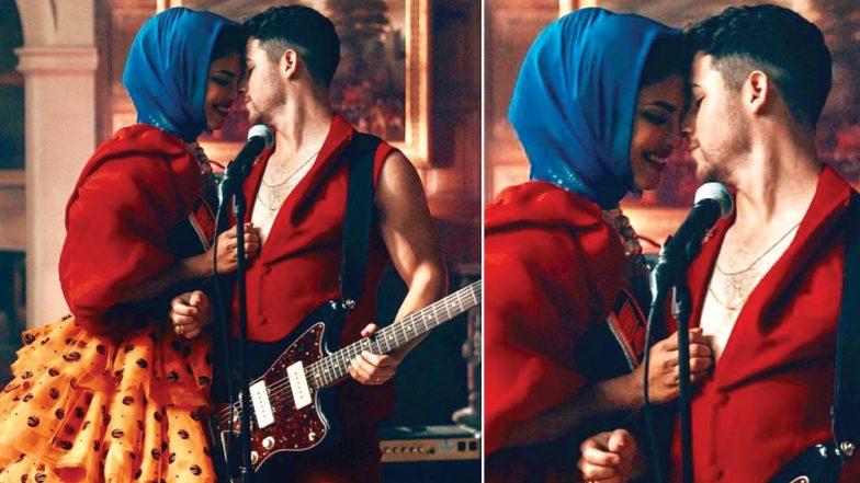 Priyanka Chopra Jonas – Nick Jonas Look RED HOT in This Still From 'Sucker'! View Pic