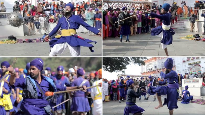 Hola Mohalla 2019: All About the Festival Celebrated After Holi that Showcases Military Skills of Sikh Warriors